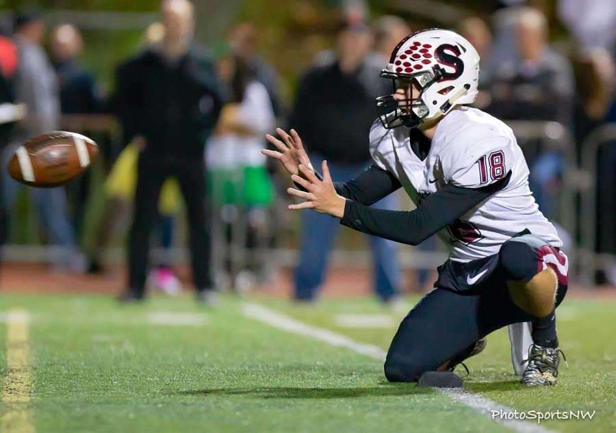 Sherwood executes the PAT. Photo by Brad Cantor