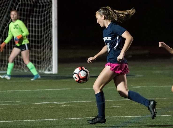 Wilsonville's Lindsey Antonson has scored 46 goals this season, tied for fourth all-time. (Photo by Greg Artman)