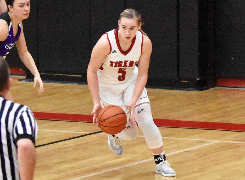 Clatskanie junior Shelby Blodgett is the seventh player in state history to record 1,000 career rebounds.