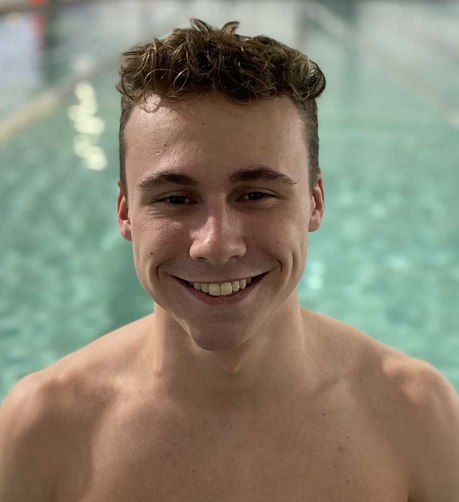 In his third season swimming for the South Salem Saxons, Julian Melton hopes one day to swim collegiately