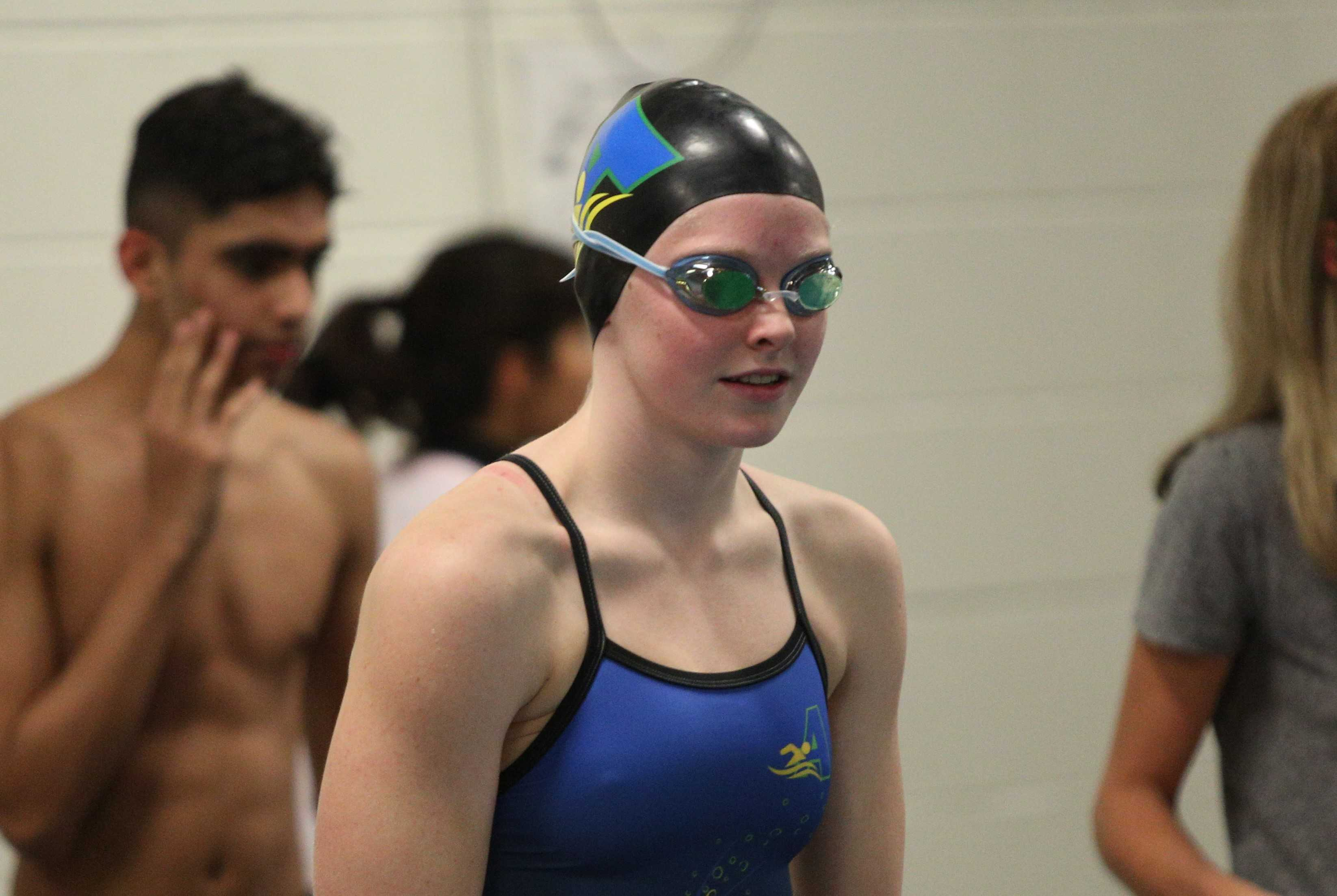 Aloha's Kaitlyn Dobler will pursue the national high school record in the 100 breaststroke this season. (Jim Newton Photography)