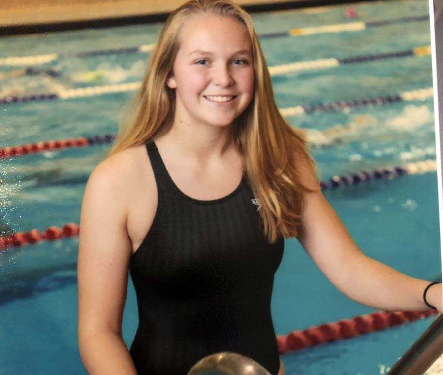 Sammy Halferty is aiming towards the state meet and perhaps a trip to the finals