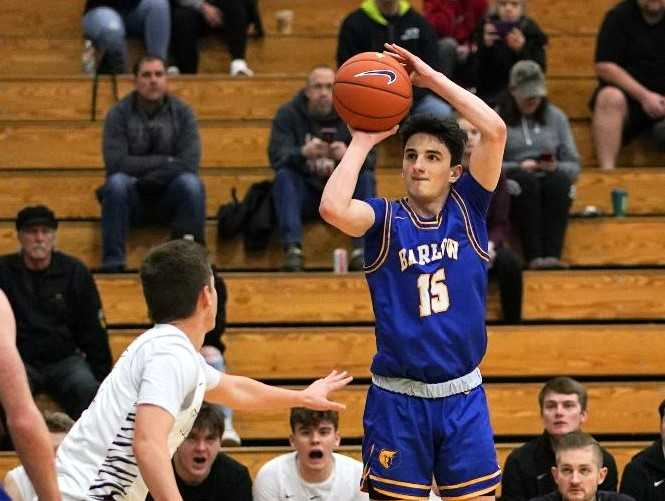 Barlow's Jesse White has made 237 three-pointers and scored 1,895 in his career, both school records. (Photo by Jon Olson)