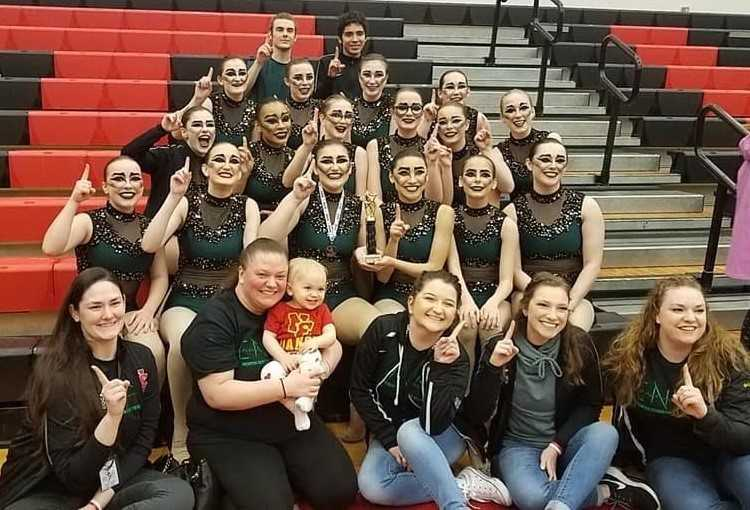 North Eugene earned Grand Champion honors and first place in the 5A division at the Thurston competition.