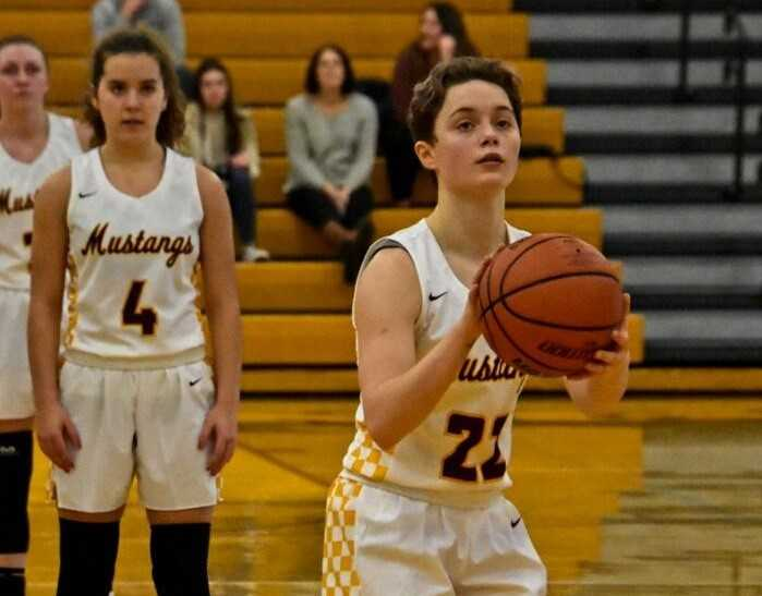 Milwaukie sophomore guard Cali Denson is averaging 31.0 points per game. (Photo by Duane Denson)