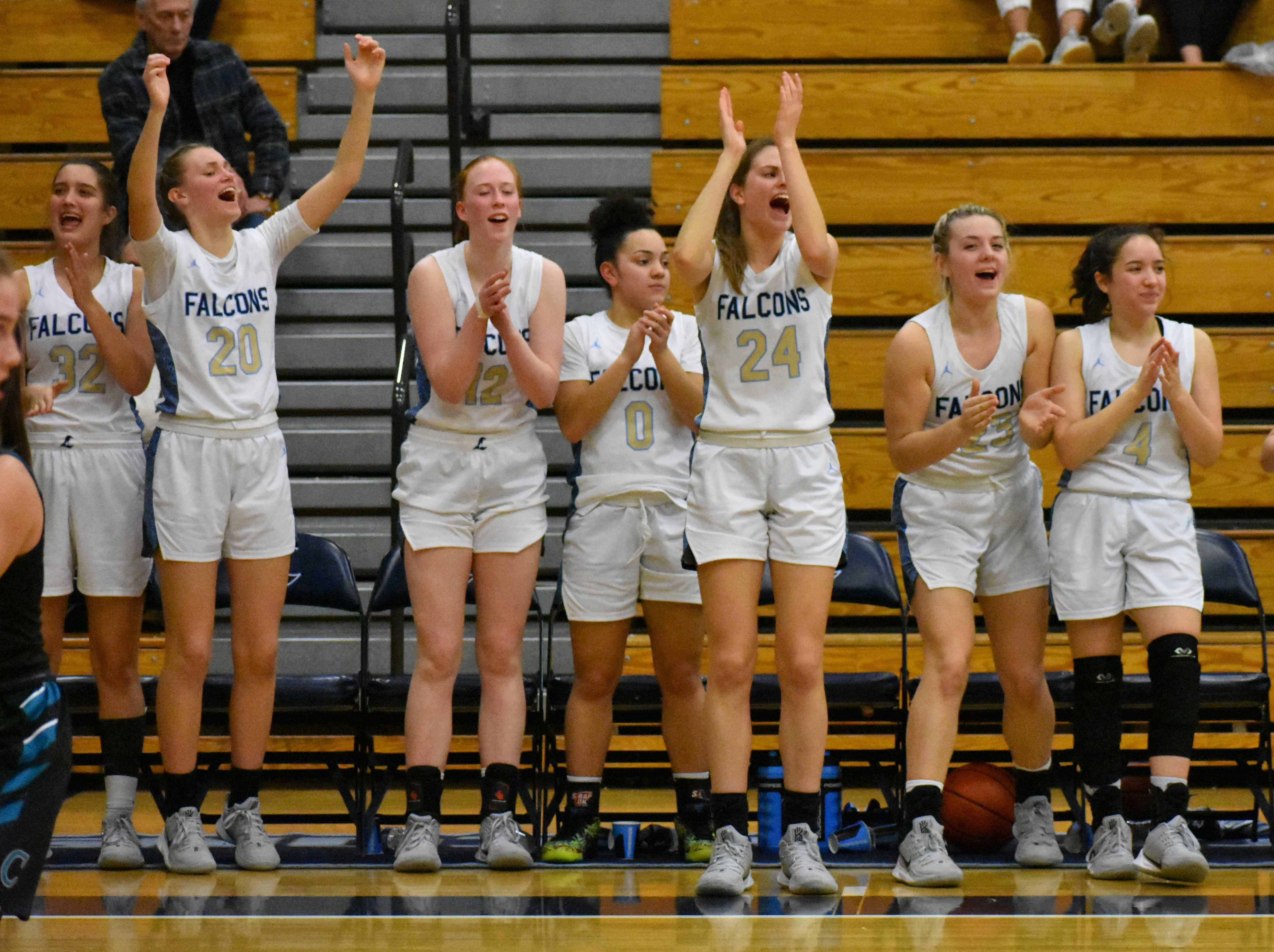 Liberty completed a perfect run through the Pacific Conference on Thursday. (Photo courtesy Liberty HS)
