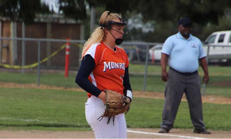 Softball will continue beyond high school for Tyler Warden. The senior will pitch for Linfield next spring