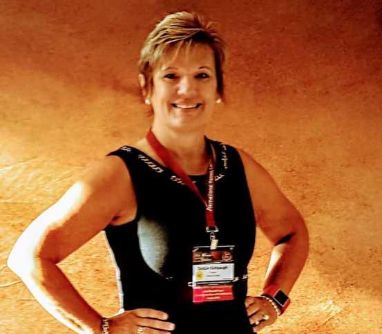 Debbie Kishpaugh has won nine state championships at Pendleton. (Courtesy NDCA)