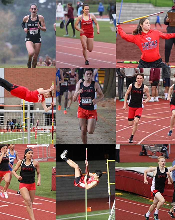 Lincoln track & field performers, like all spring athletes in Oregon, have had their seasons ended before they started