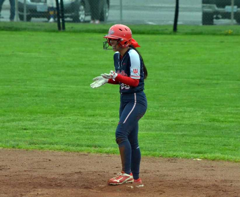 Maddie Curaming hit .407 with 23 RBIs and eight steals in her junior season