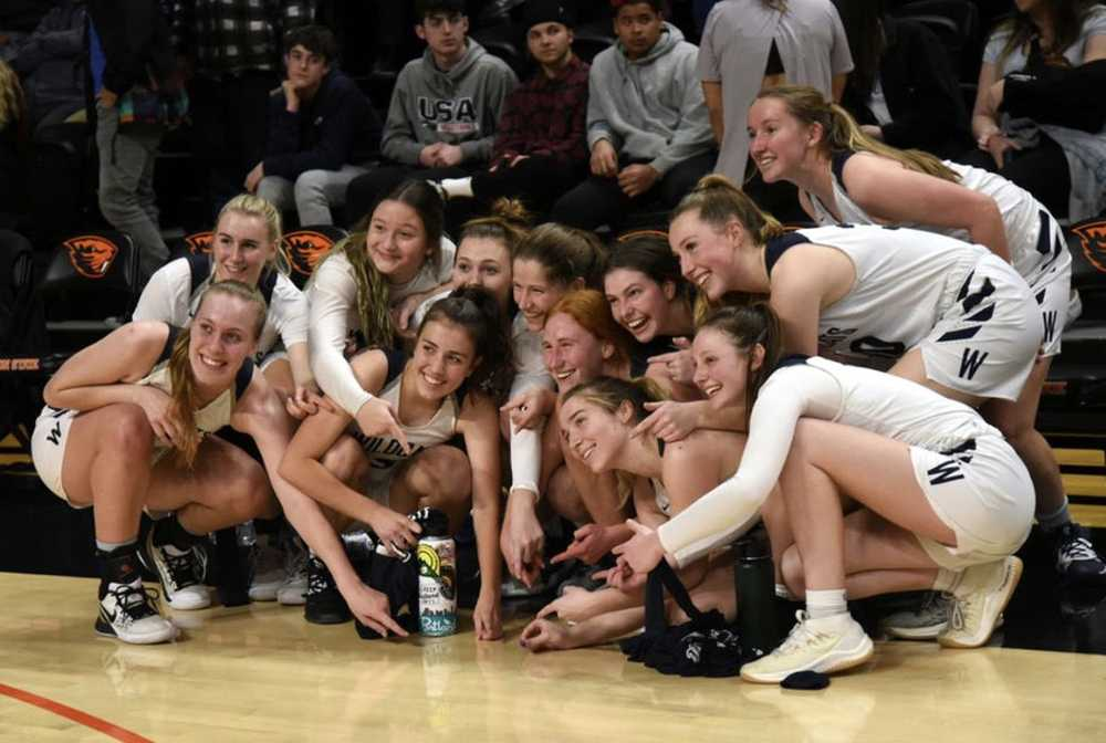 For Wilsonville's girls basketbal team: Smiles then tears; a memory etched in time