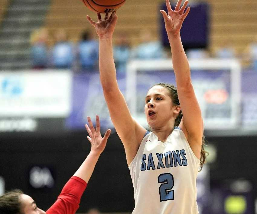 Hilary James was the two-time Mountain Valley Conference player of the year for South Salem. (Photo by Jon Olson)