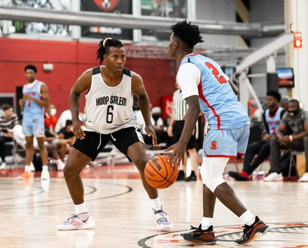 Lamar Washington (6) led Jefferson in scoring, assists and steals as a sophomore. (Courtesy photo)