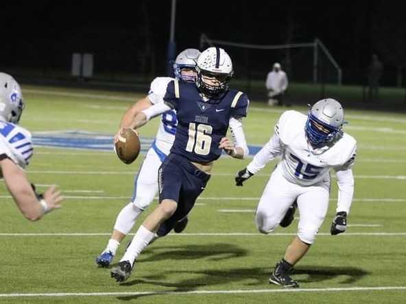 Banks junior Cooper Gobel has thrown for 10 touchdowns without an interception in two games. (Photo by Stewart Monroe)