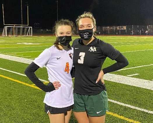 Gladstone's Brianna Lewis (left), North Marion's Mya Hammack led their teams in head-to-head matchups last week.