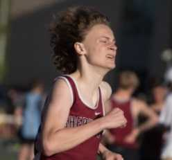 Sherwood junior Jeffery Rogers leads the state in the 3,000 meters with a time of 8:52.74. (Photo courtesy Sherwood HS)