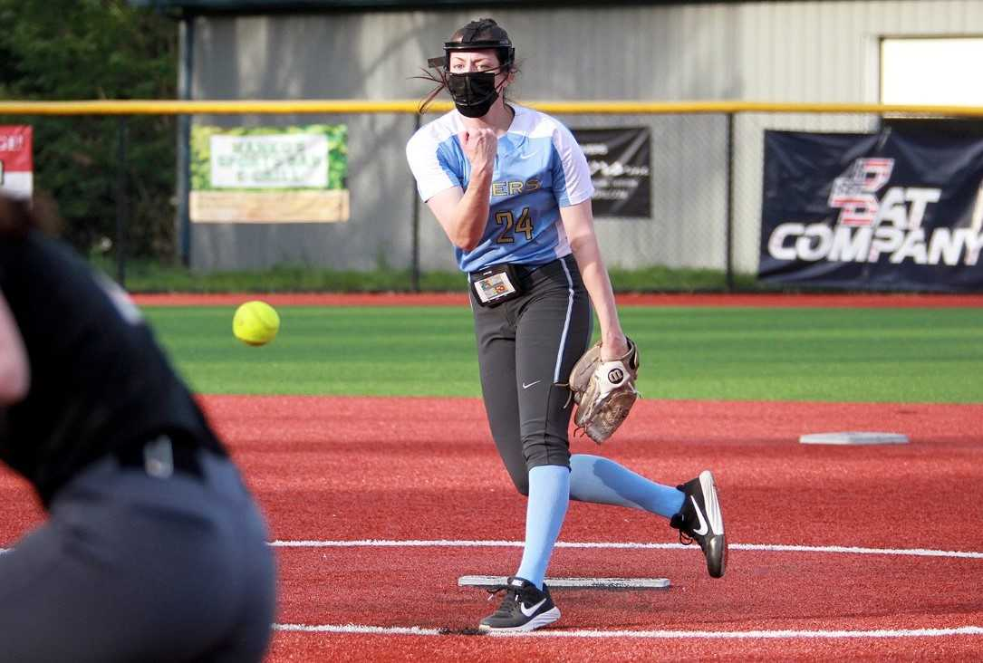 Lakeridge's Holly Beeman struck out 145 batters and hit .404 with nine home runs this season. (Miles Vance/Pamplin Media)