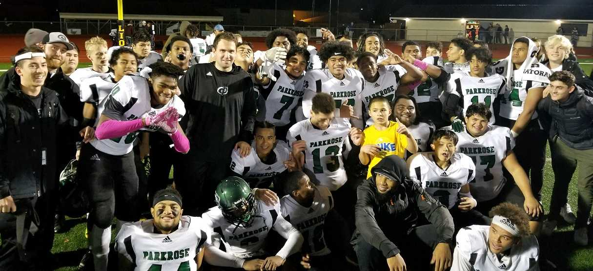 Parkrose earned a playoff spot by beating St. Helens on Friday night.
