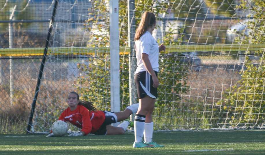 Audrey Quast returns to the net for a fourth straight season for Cascade Christian