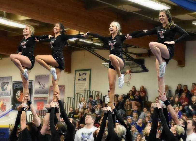 Returning Large Coed state champion Tualatin evoked shouts of 'the pack is back.'