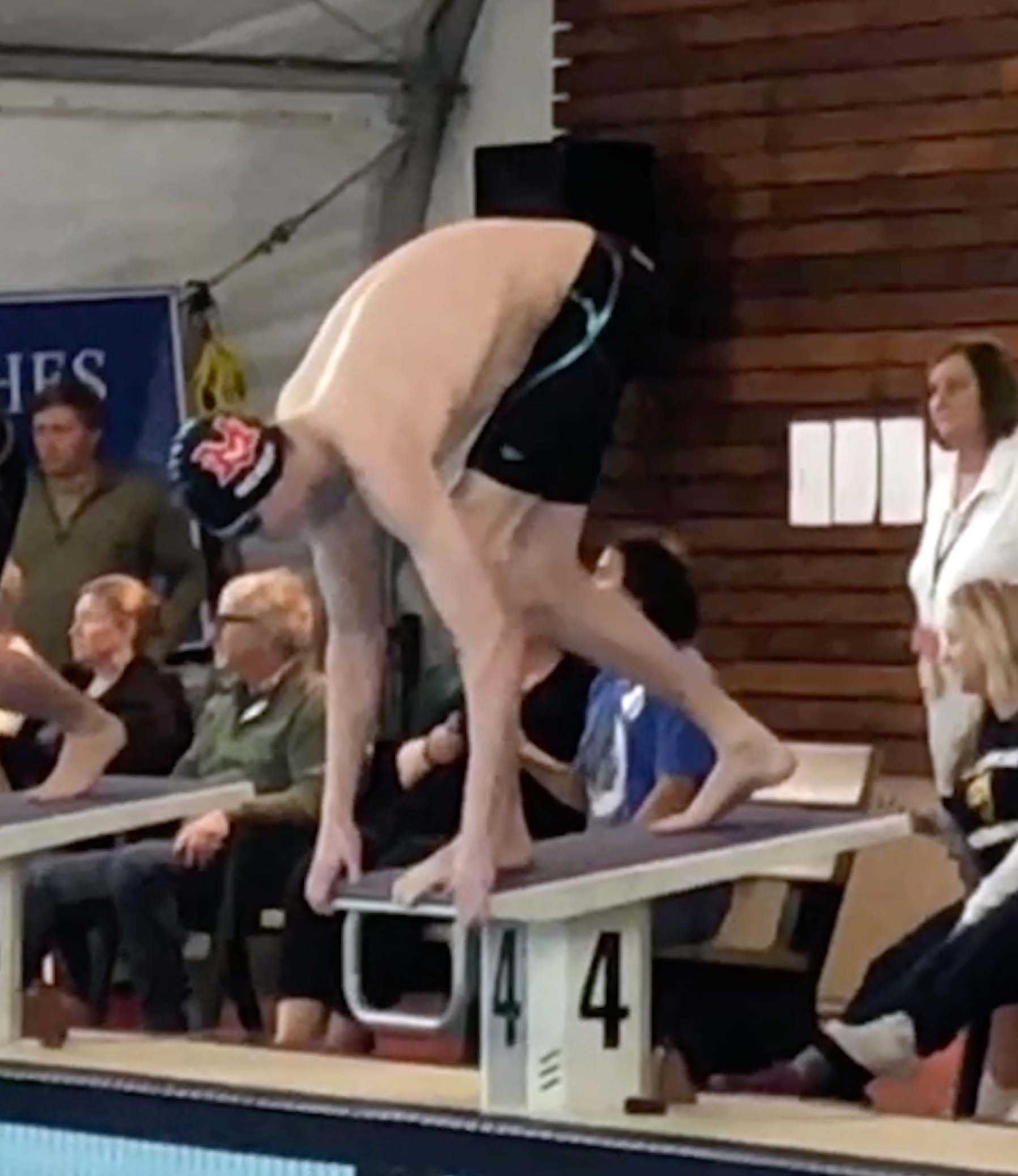 With two parents who swam in college, Griffin McKean is a chip on and off the old block