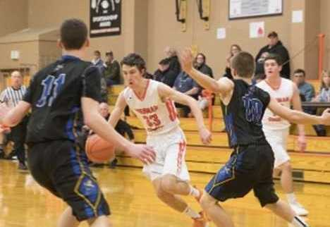 Sherman's Luke Martin averages 15.0 points, 7.3 assists and 6.0 rebounds.