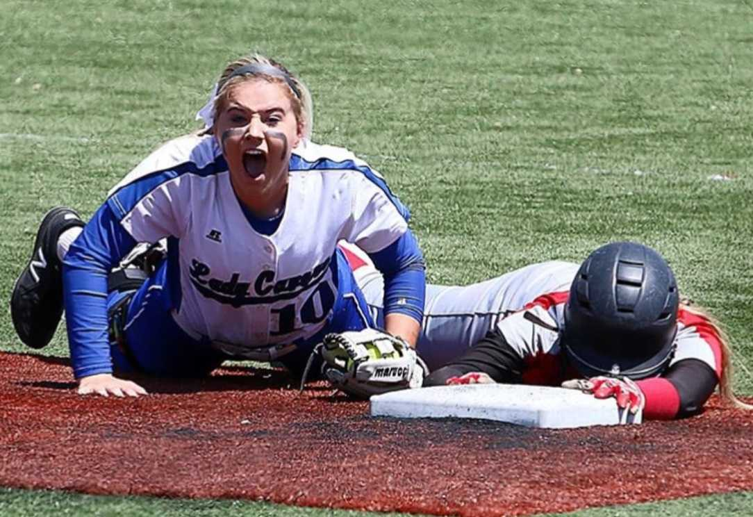 Grants Pass shortstop Grace Gaither is headed to Oregon State. (Will Rubin/Grants Pass Daily Courier)