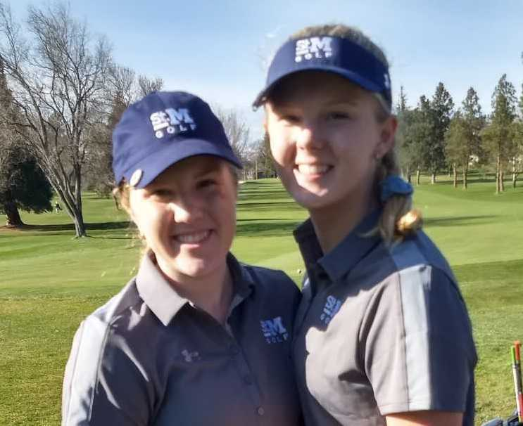 The future for St. Mary's is promising with the Hammericksens, Baylee (left) and Riley. (Courtesy Kevin Klabunde)