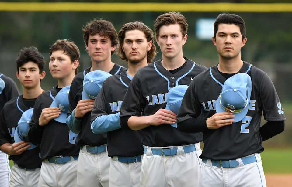 Senior pitcher Colin Hardy (2) and the Pacers have shut down their opponents this season. (Courtesy Lakeridge HS)