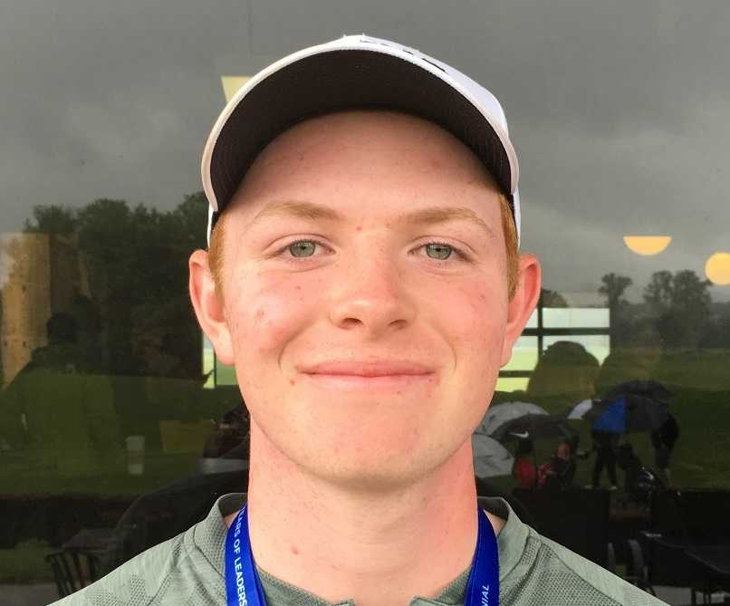 Medalist Andrew Reinhardt led Jesuit to its third consecutive 6A title Tuesday.