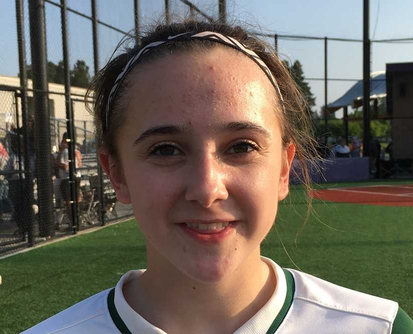 Sheldon's Camille Leach has allowed two earned runs in four playoff games.