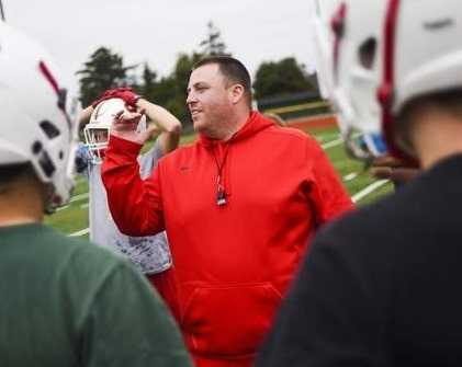 New Cottage Grove coach Chad Smith was the coach at La Grande, Seaside and Siuslaw. (Photo courtesy Seaside Signal)
