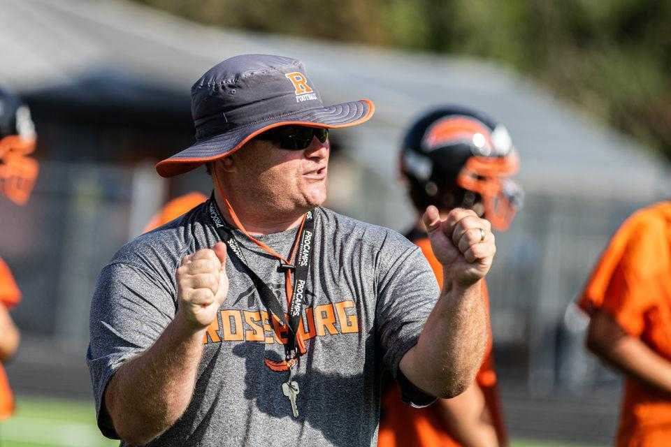 Roseburg coach Dave Heuberger likes how his offense is spreading the ball around. (Chase Allgood/OregonLive)