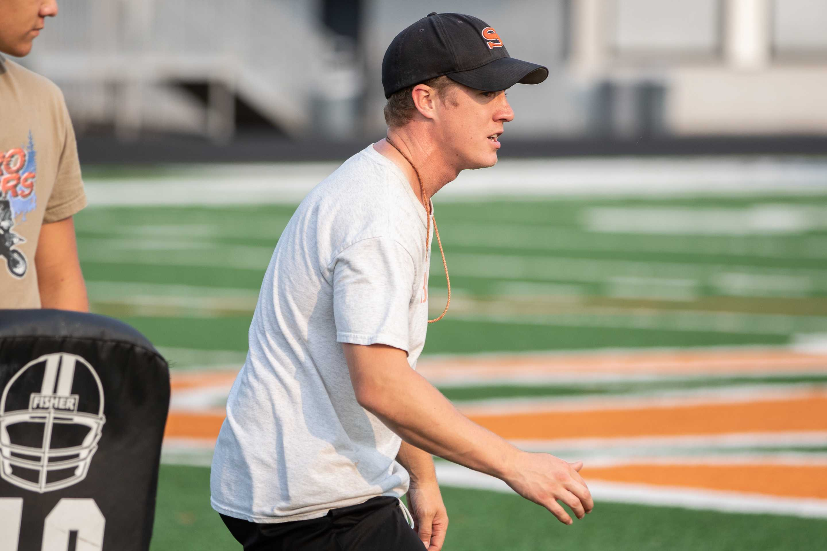 Silverton coach Josh Craig likes his team's improved physicality. (Photo by Chase Allgood/OregonLive)