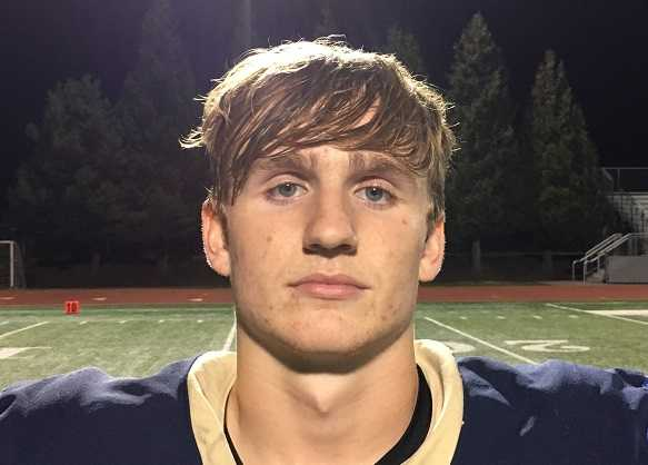 Liberty's Bradley Norman passed for two touchdowns and ran for a 55-yard score Friday.