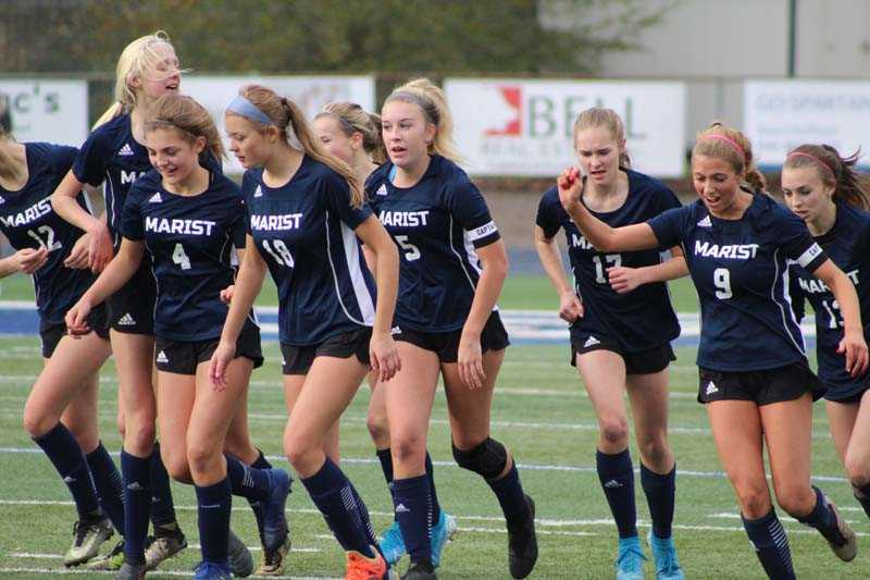 Marist Catholic pitched a shutout to reach the semifinals. Photo by Kevin Cave