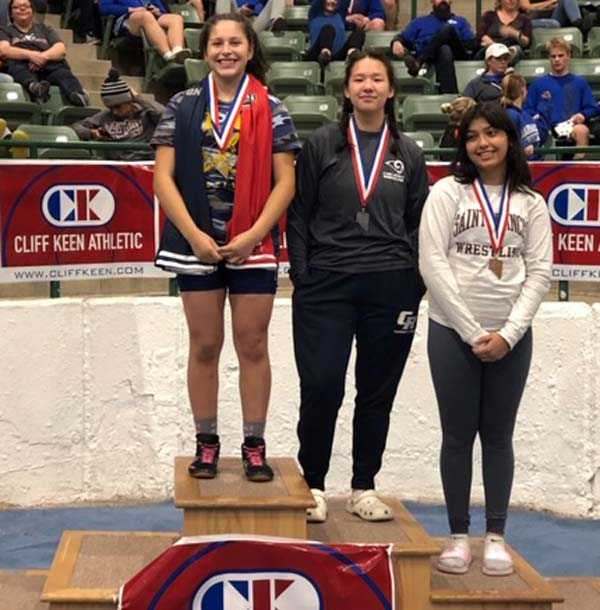 Fatima Albarran has been atop the podium often for Bend this season