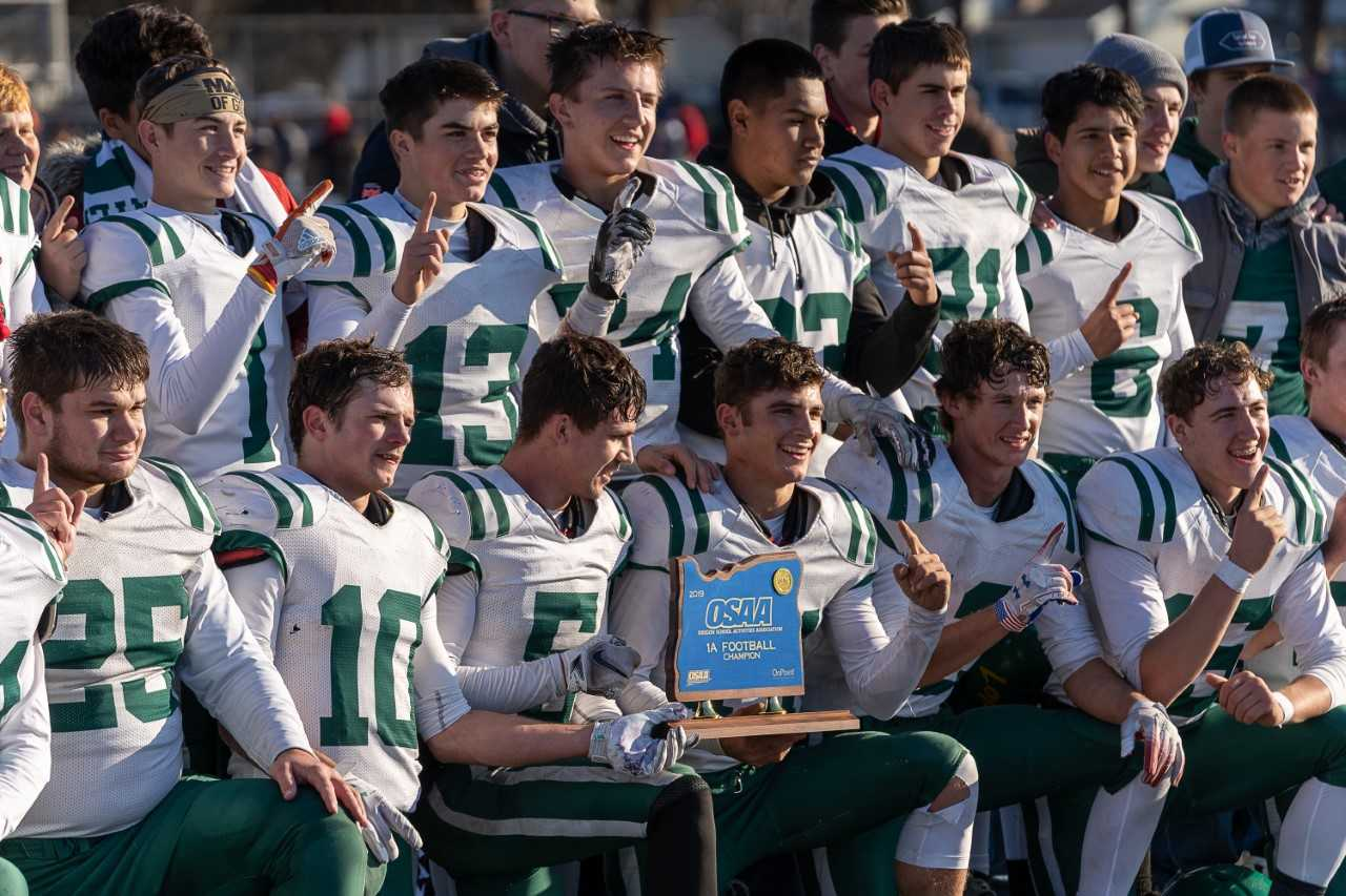 Adrian combined with Jordan Valley to win the 1A title last season.