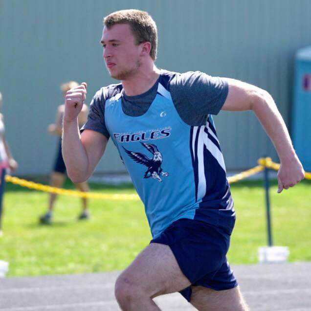 Jacob Johns qualifed for state as a sophomore. Last year he placed fourth in the 300-meter hurdles
