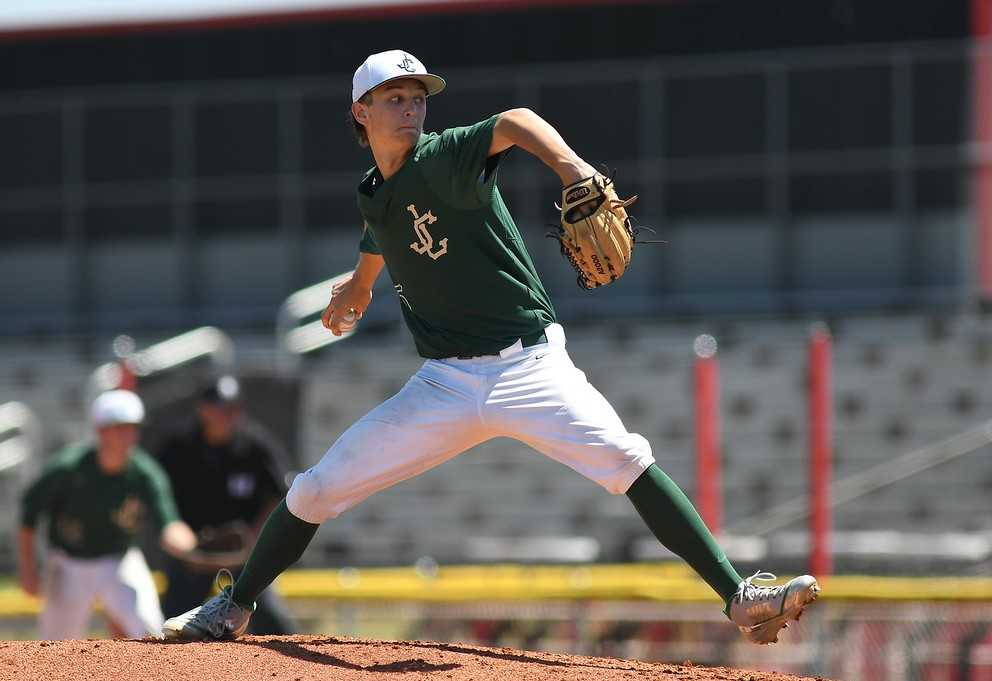 Mick Abel went 10-0 with a 1.26 ERA for Jesuit's 6A title team last year. (Brian Murphy/SaderNation.org)