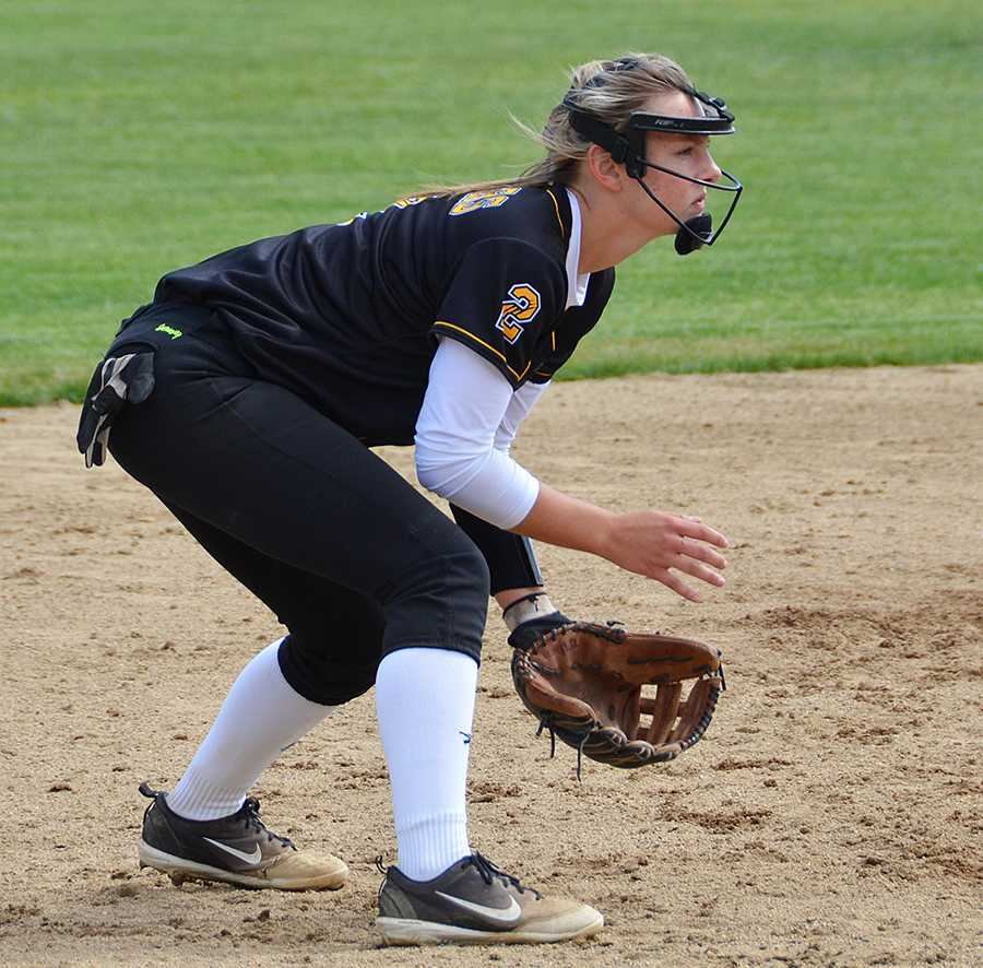 Camryn Boyles may get lost on a big campus like Oregon State but she feels right at home playing shortstop
