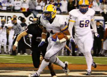 Thomas Tyner finished his senior year with 3,415 rushing yards. Photo courtesy of NW Sports Photography