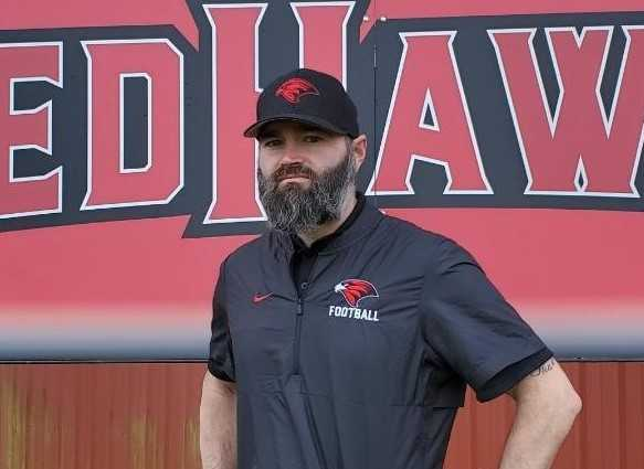Jeff Louber served as South Albany's defensive coordinator the last five seasons. (Photo courtesy South Albany HS)