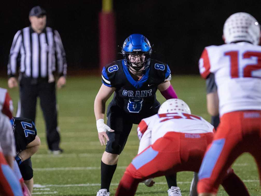 Grant linebacker Brennick Beck had hoped to impress college coaches in camps this summer. (Photo by Mark Going)