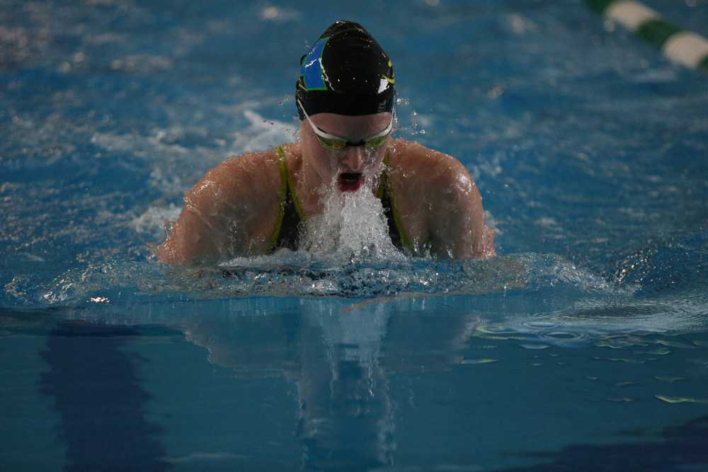 Kaitlyn Dobler will continue her swimming success at USC. Photo courtesy of Jim Newton Photography