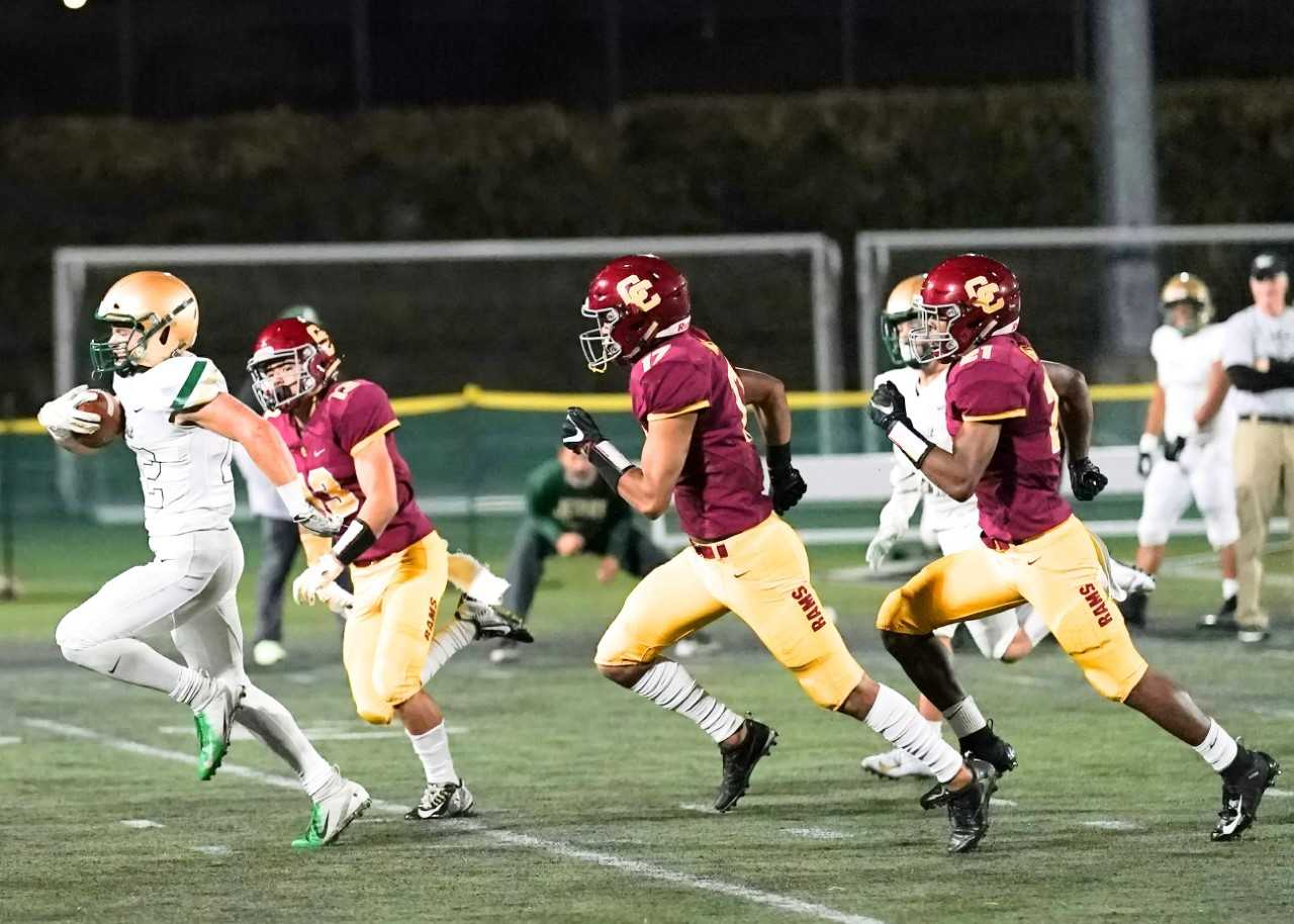 Under the OSAA's new plan, the first high school football games will be March 15. (Photo by Jon Olson)