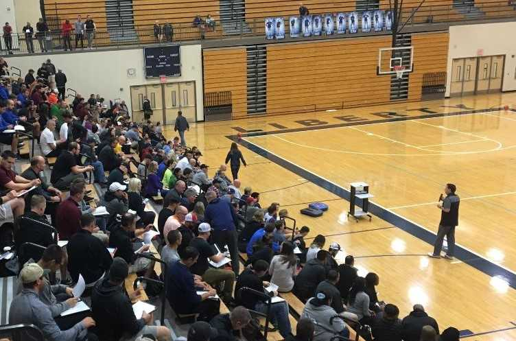 The OBCA Coaches Clinic has attracted nearly 400 coaches in recent years.