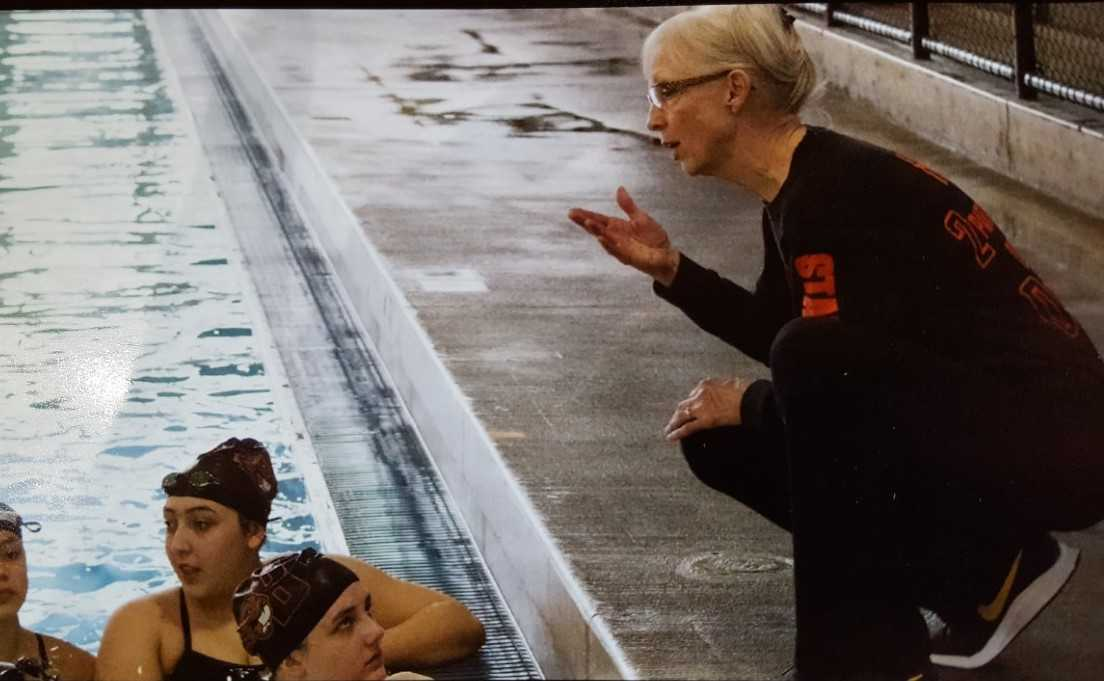 Beaverton's Judy Rusaw was the NFHS sectional coach of the year in 2006. (Photo by Cathy Gayaldo)
