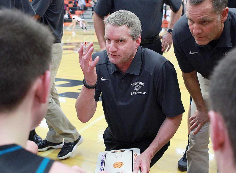 Scott Kellar has been coaching boys basketball at Century since the school opened in 1997
