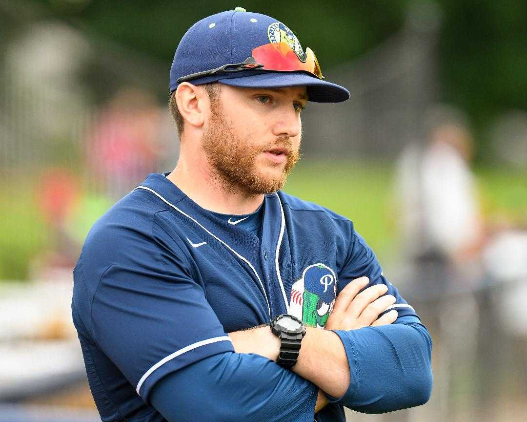 Justin Barchus was named 2018 West Coast League coach of the year with the Portland Pickles. (Photo courtesy Portland Pickles)